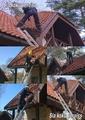 jumtu tīrīšana
